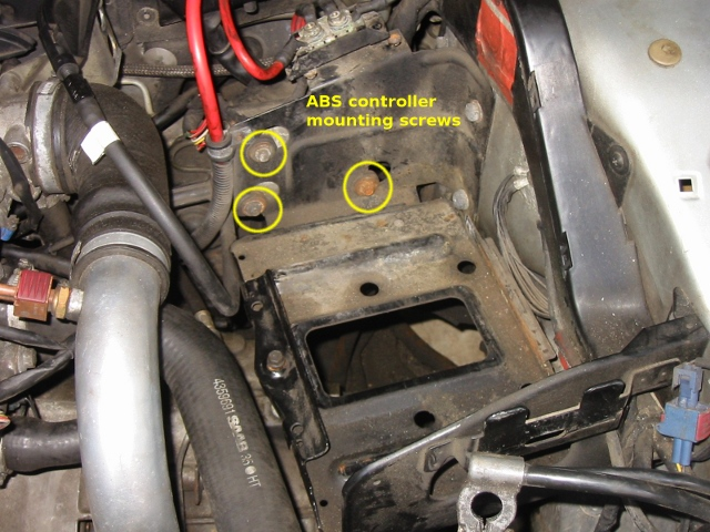 Removing And Replacing The Saab 9000 Manual Transmission Unit